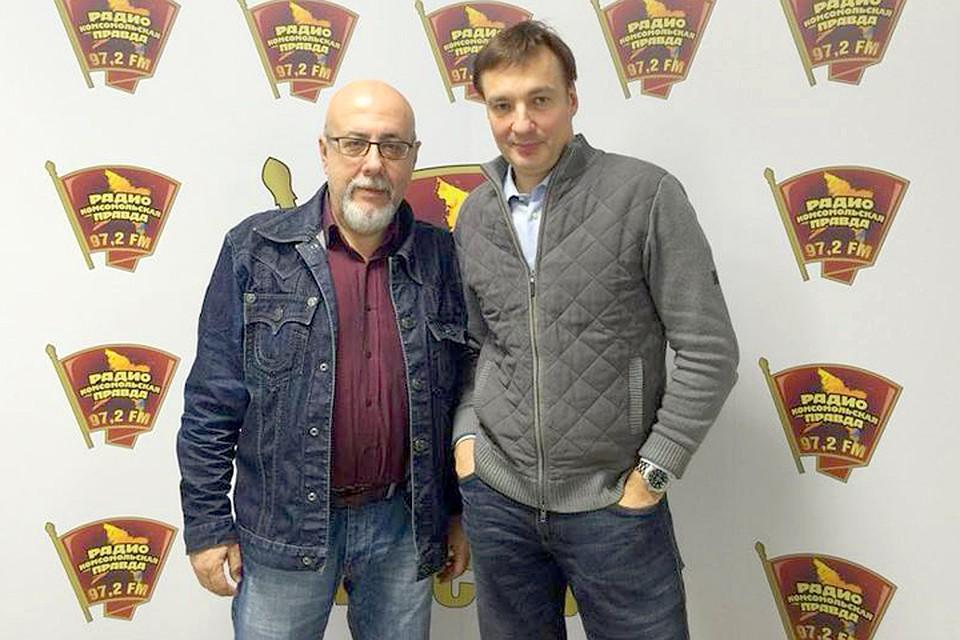 Известный сценарист, писатель, режиссер Павел Санаев в гостях у Давида Шнейдерова в программе «Синемания» на Радио «Комсомольская правда»