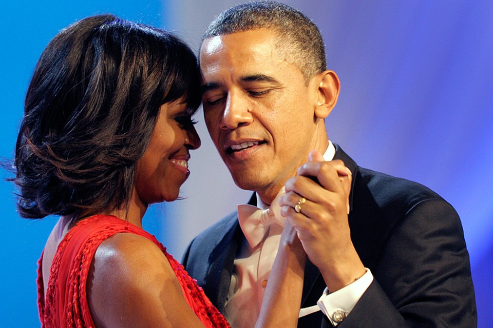 Барак Обама без ума от фигуры своей жены.