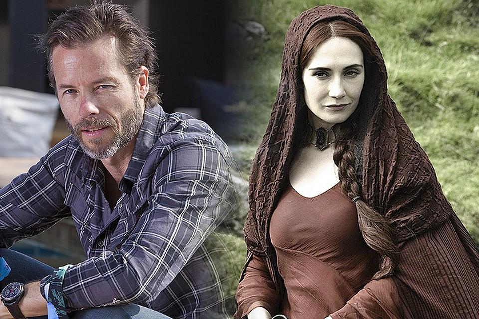 """Кэрис ван Хаутен, Мелисандра из """"Игры престолов"""", беременна от актера Гая Пирса."""