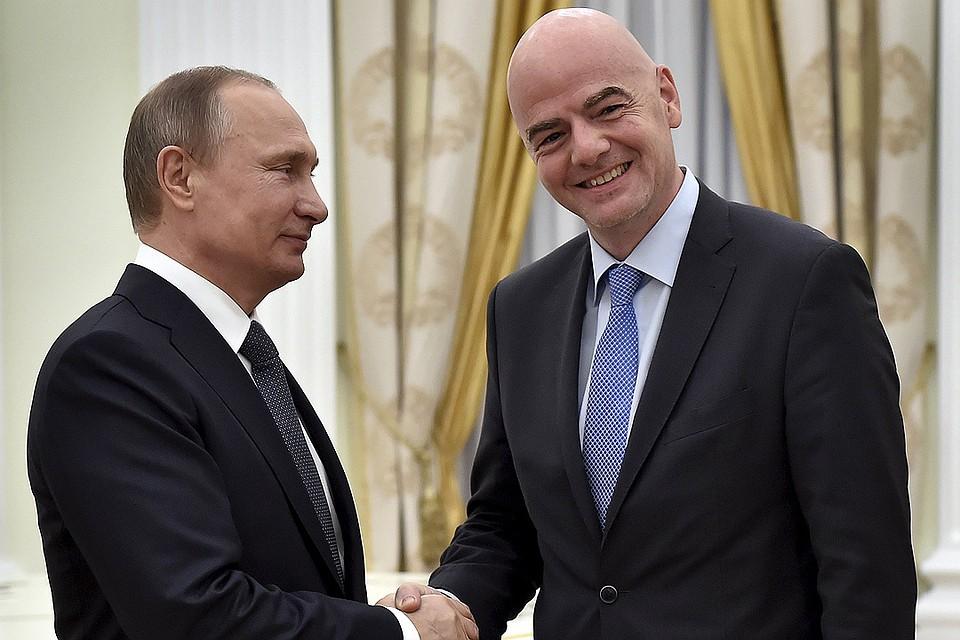 """""""Весь мир будет смотреть на Россию"""""""