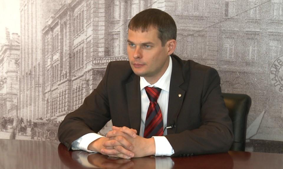 ВПриморье схвачен прошлый вице-губернатор Олег Ежов