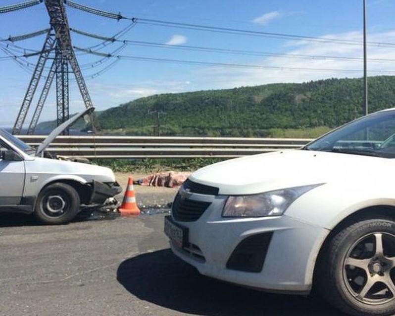 Близ Жигулевской ГЭС вДТП умер байкер