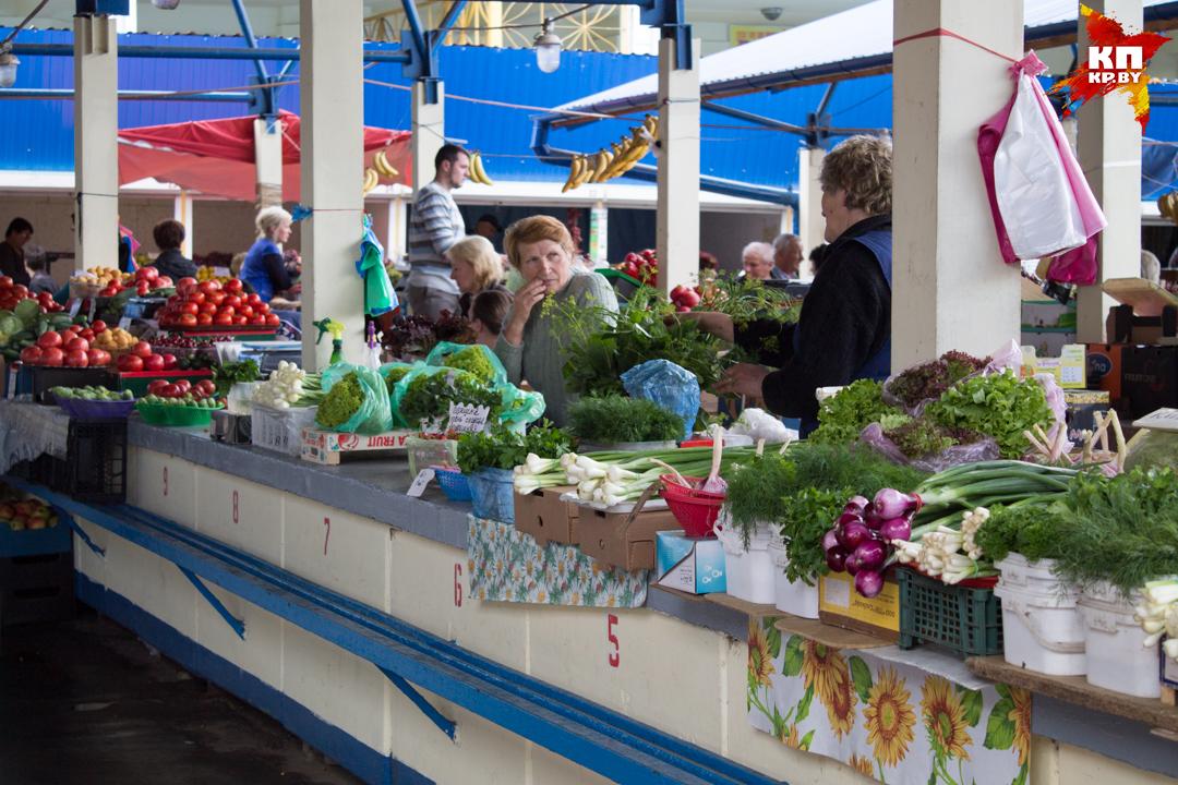 По чем на брестском рынке продают свежие овощи?