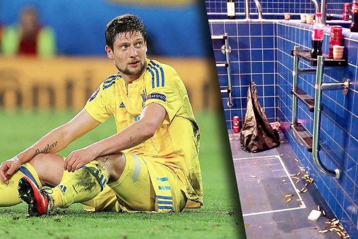 В сборной Украины удивились, откуда у немецкого издания такие снимки. Фото: Bild