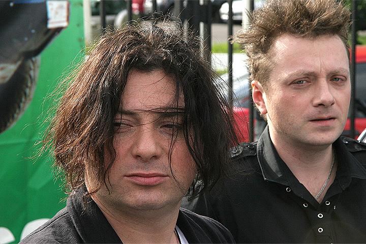 Глеб и Вадим Самойловы в 2006 году.