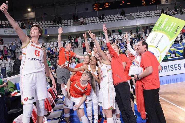 Белорусские баскетболистки выиграли билеты в Рио. Фото: bff.by