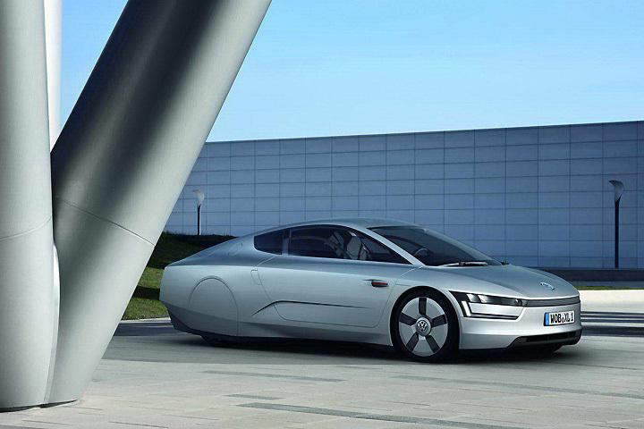 Volkswagen XL1 Concept - это их видение экологичного автомобиля будущего.