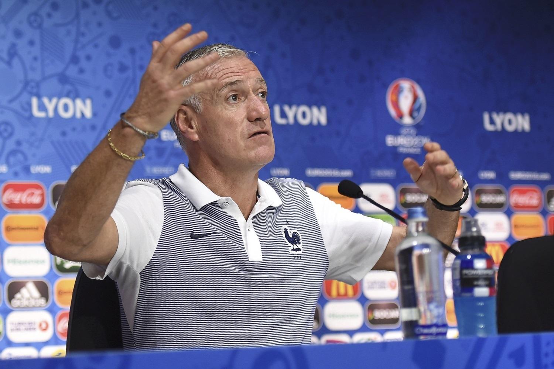 Главный тренер сборной Франции Дидье Дешам.