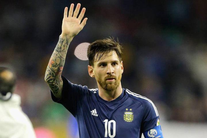 Месси отпустил на удачу бороду, но сборной и это не помогло. Лео прощается со сборной Аргентины. Фото: Bob Levey/AFP
