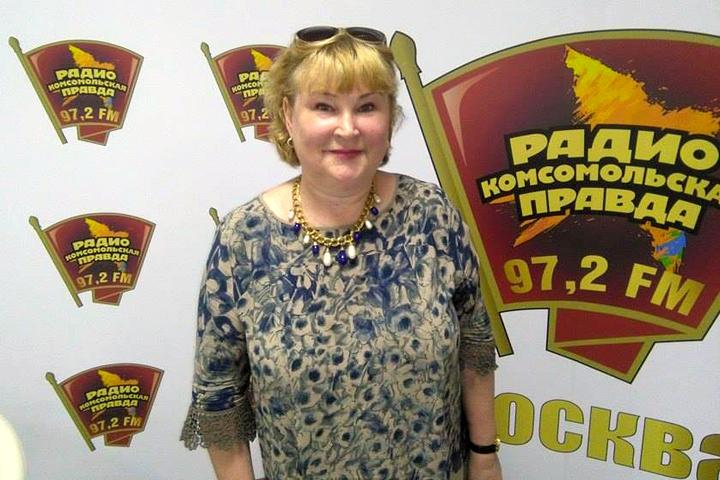 Писатель Татьяна Полякова в гостях у Радио «Комсомольская правда»