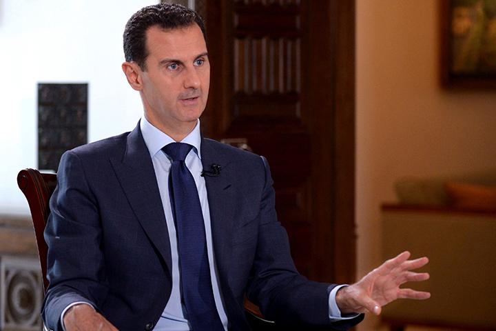 """Há na Síria um """"cheiro"""" de Guerra Mundial – Bashar al-Assad"""