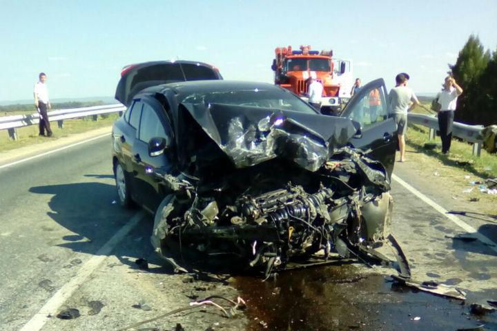 ВБашкирии вДТП погибли три человека