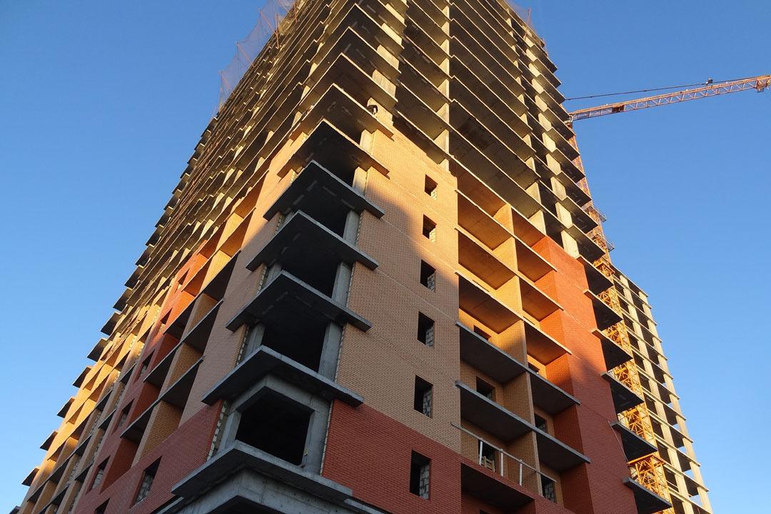 Всамом начале года вТюменской области построили 800 тыс. квадратных метров жилья