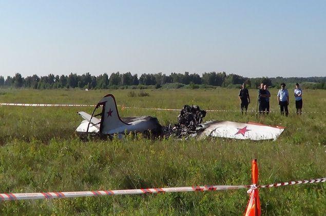 Экс-руководитель летного клуба получил 3,5 года закрушение Як-52