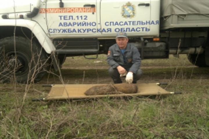 Усела Игишево Поныровского района найдены боеприпасы времен ВОВ
