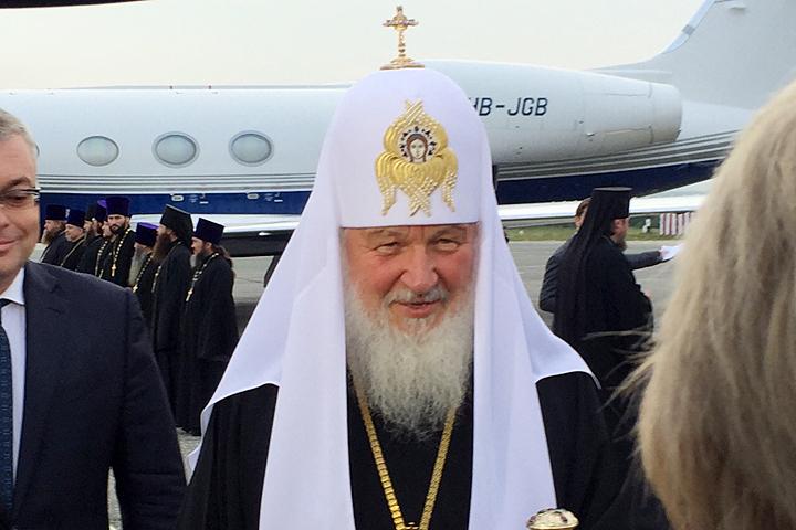 Патриарх Кирилл освятил храм Рождества Христова вЮжно-Сахалинске