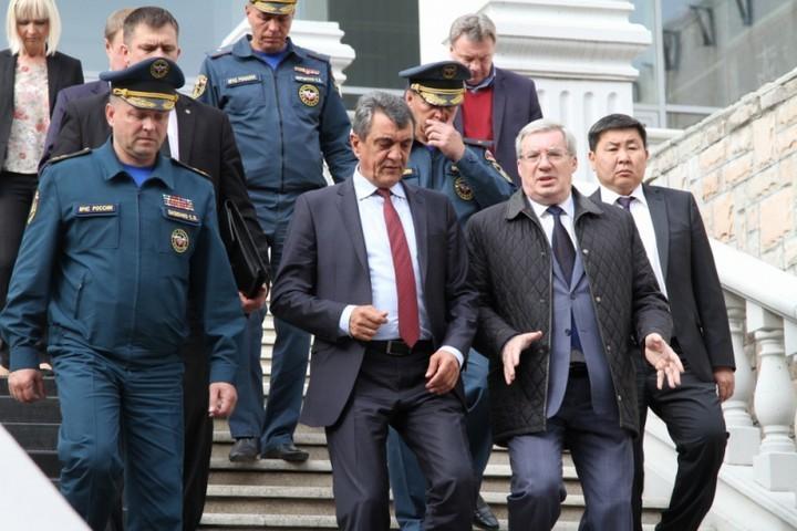 Сергей Меняйло оценил подготовку Красноярска кУниверсиаде