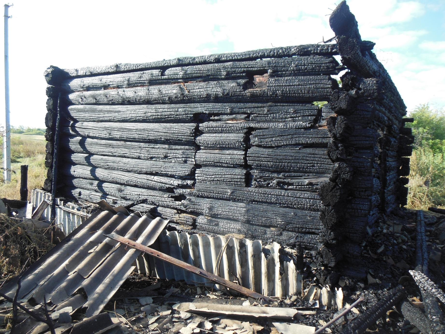 ВНовоспасском районе мужчина сгорел живьем
