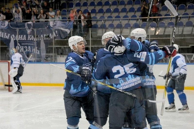 ХК «Рязань» уступил вовтором домашнем матче кряду