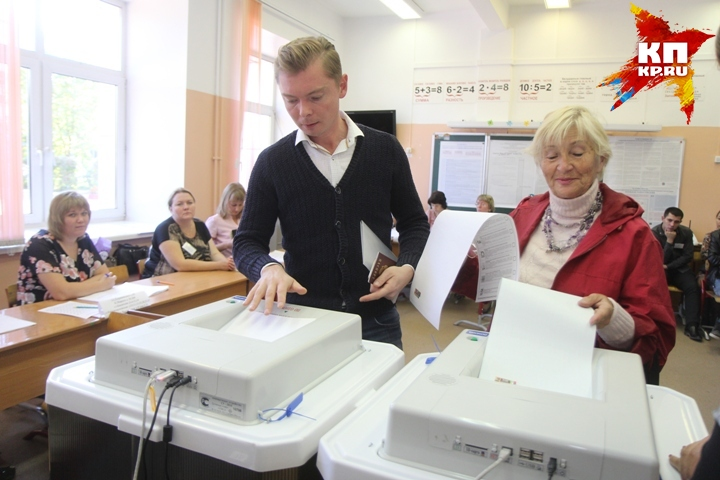 ВНовосибирской области закрылись избирательные участки