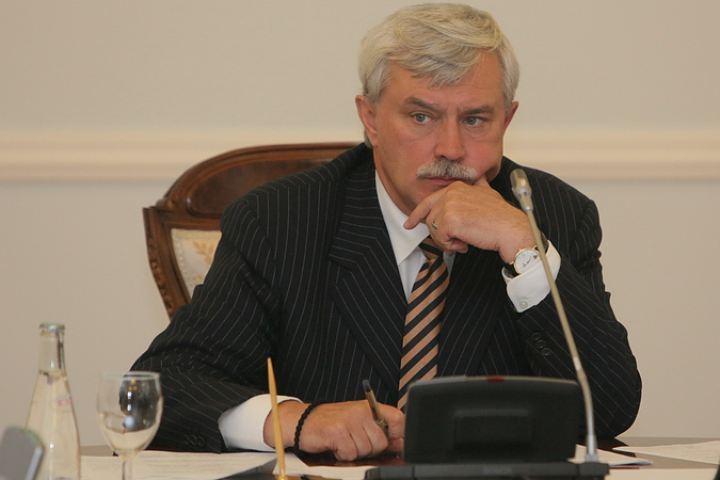 Губернатор Петербурга отказался отместа в государственной думе