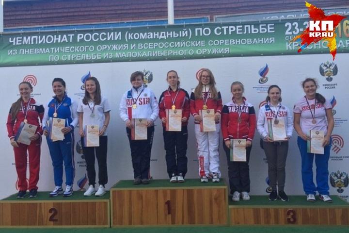 Юлия Каримова изУдмуртии стала серебряным призером всероссийских состязаний пострельбе
