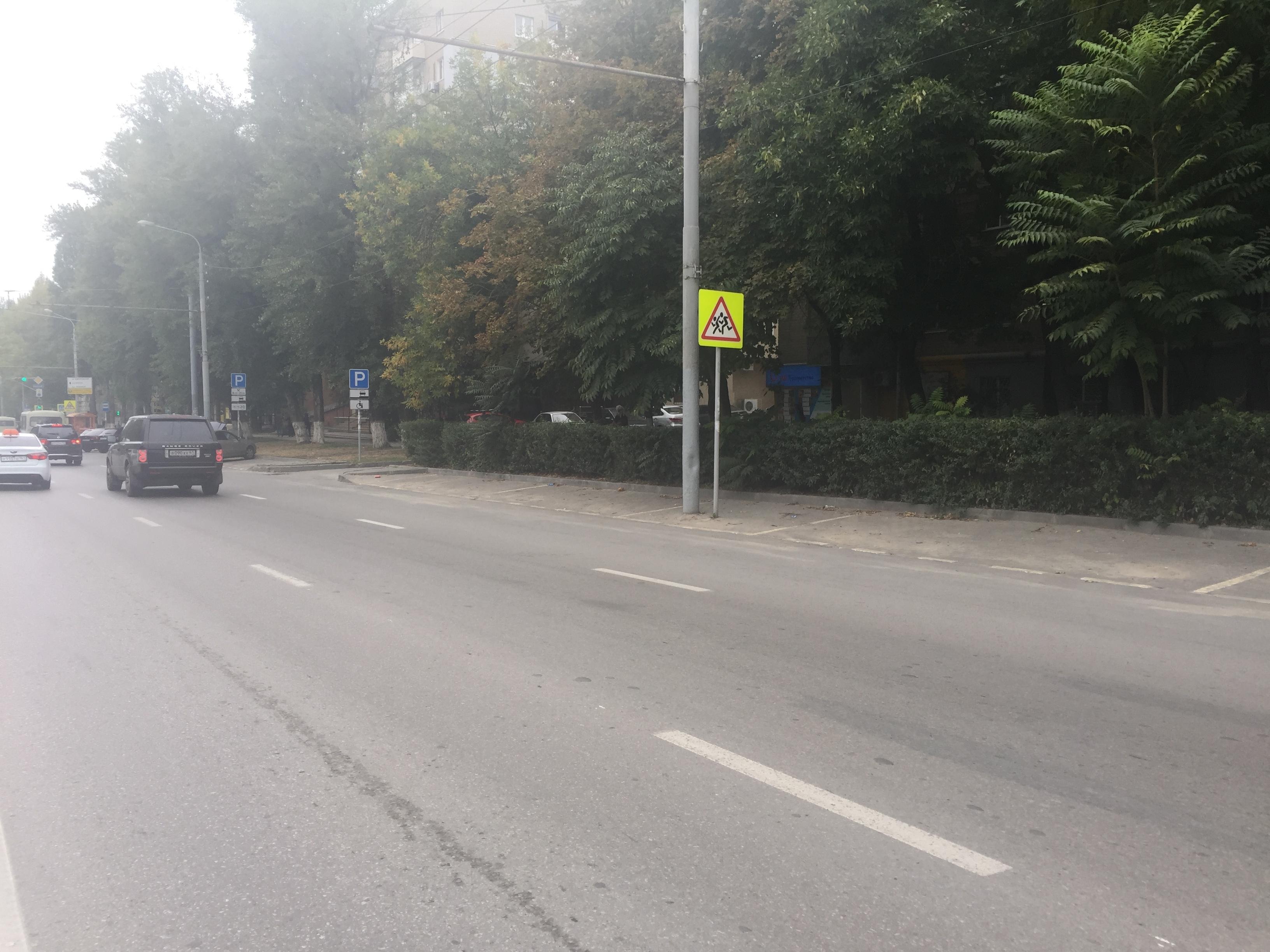 Запарковку авто вцентре Ростова платит только каждый третий