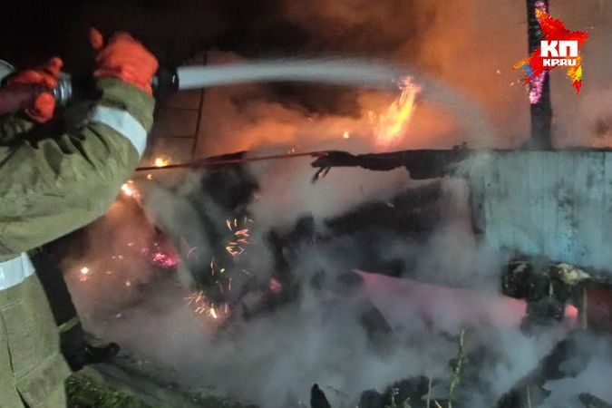 Два ребенка погибли впожаре вжилом доме наУрале