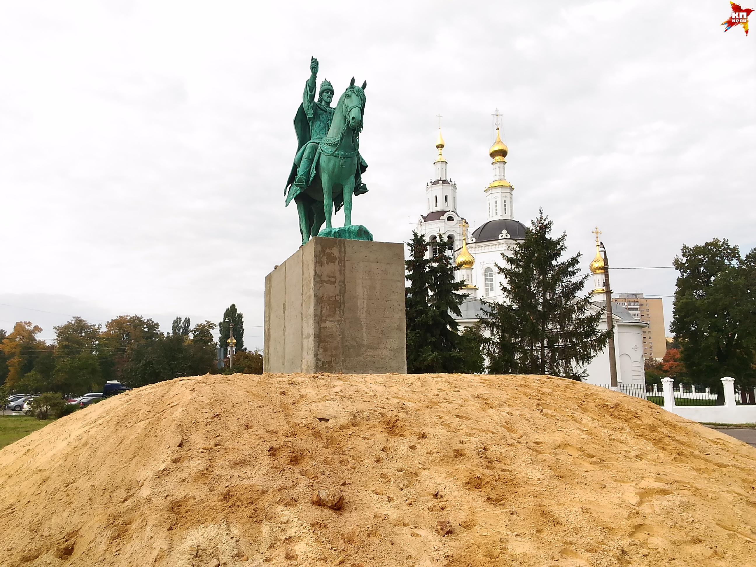 ВОрле установили памятник Ивану Грозному