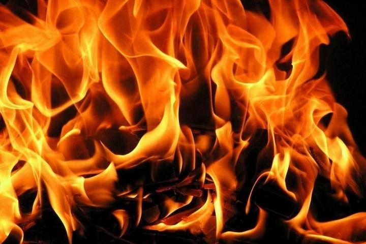 Из-за пожара вУшачах эвакуировали 11 человек