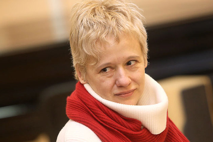 Латвийская писательница Даце Рукшане. Фото: с сайта rus.tvnet.lv