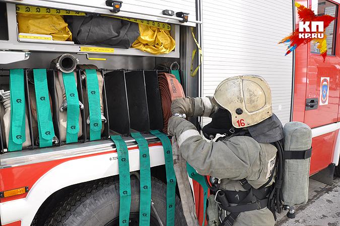 45 человек были эвакуированы из-за пожара вновосибирской туберкулезной клинике
