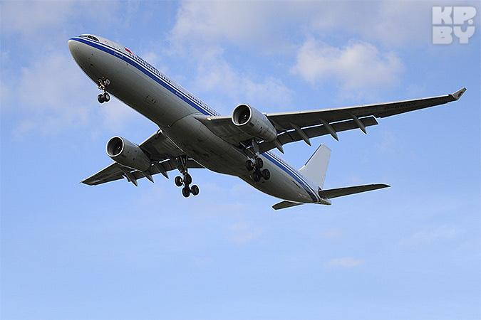 В Минск летит «заминированный» самолет из Москвы