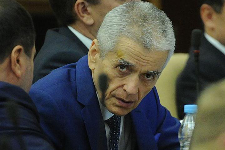 Геннадий Онищенко на первом заседании Госдумы