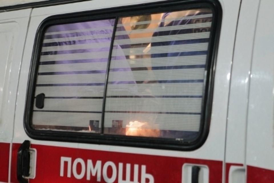 Девочку увезли в первую детскую больницу