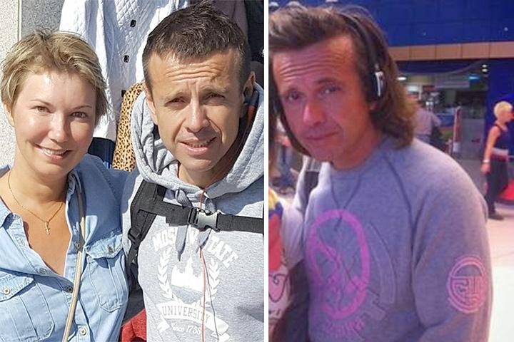 Андрей Губин на снимке, сделанном в октябре в Сочи (слева) выглядит куда свежее, чем полтора года назад в аэропорту Турции. ФОТО Официальный фанклуб певца Vkontakte