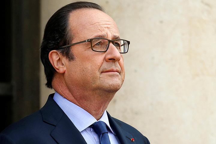 Президент Франции Франсуа Оланд.