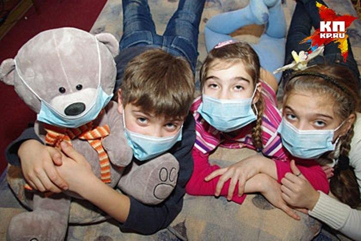 ВКурске вакцинацию детей против гриппа продлили до1ноября