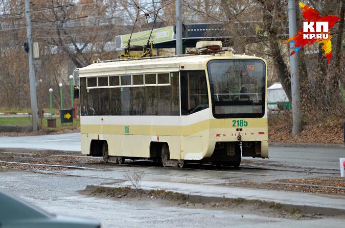 ВСамаре пассажиров трамвая эвакуировали из-за чьих-то джинсов