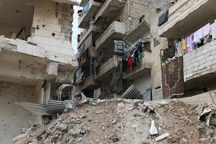 В Финляндии почтят память жертв бомбардировок сирийского города Алеппо.
