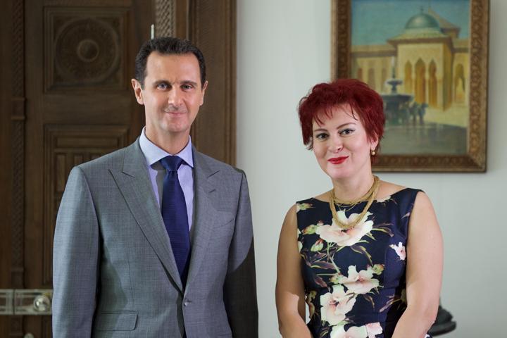 Сирийский лидер дал эксклюзивное интервью «Комсомольской правде». Фото: Пресс-служба Башара Асада