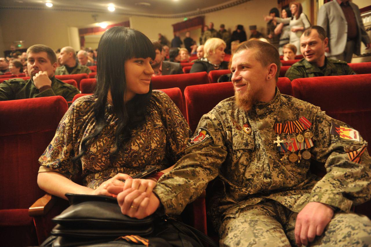 У Моторолы и его жены Елены есть два ребенка Фото: Алексей Дружинин/ТАСС