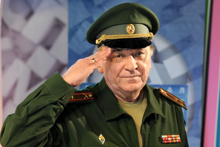 Военный обозреватель «Комсомольской правды», полковник Виктор Баранец