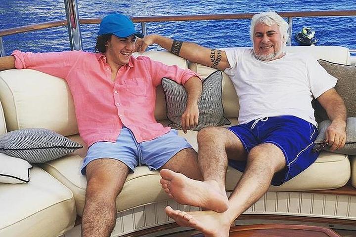 Глава компании «РЕСО-Гарантия» 57-летний Сергей Саркисов с сыном Сергеем.