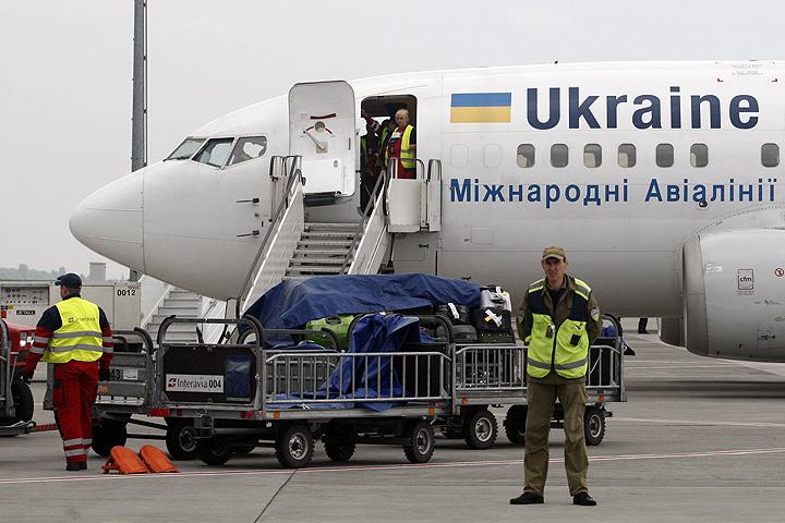 В Министерстве инфраструктуры Украины решили, что аэропорты должны отказаться от использования русского языка. ФОТО Zuma/TASS