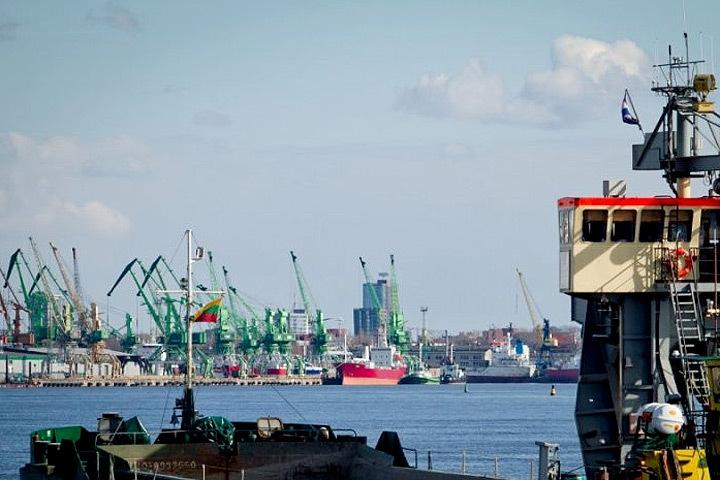 В Клайпедском порту растёт грузооборот. Фото: с сайта nedelia.lt