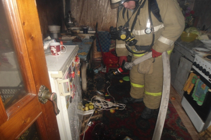 ВКурской области огнеборцы спасли изпожаров 6 человек