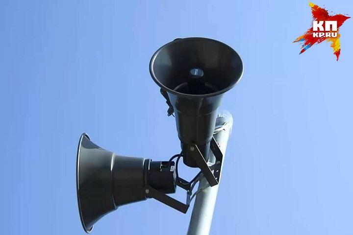 Граждане Тобольска услышат звуковую сирену «Внимание всем!»