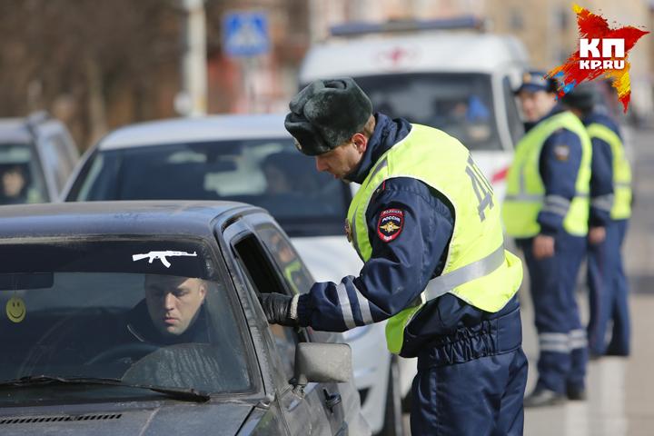 28октября вцентре Брянска будут ловить нетрезвых водителей