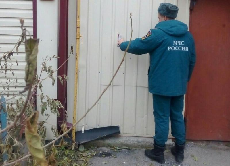 Тюменские cотрудники экстренных служб проверяют дома спечным отоплением